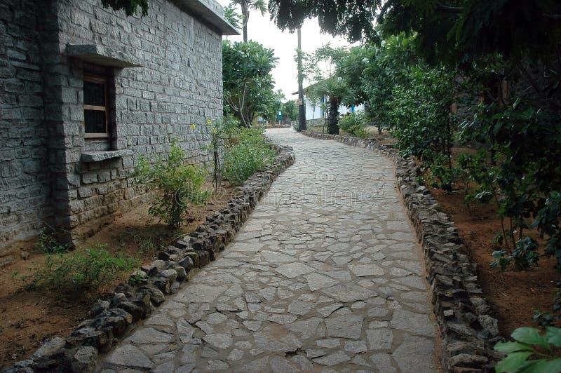 Download Foot path stock image. Image of quiet, travel, garden - 1089451