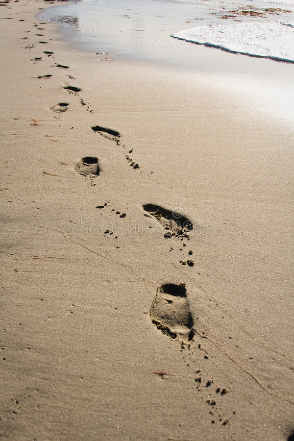 Download Foot prints stock image. Image of nicole, foot, barefoot - 6992435