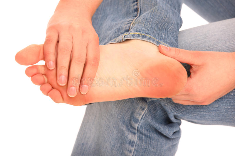 Download Foot problem stock photo. Image of physical, female, physiotherapy - 24185462
