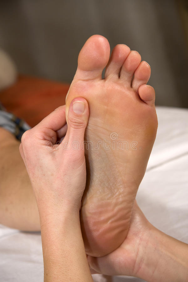 Free Foot Reflex Zone Massage Stock Images - 13379294