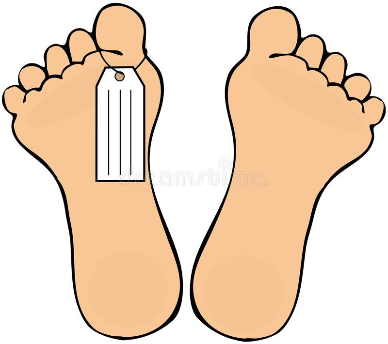 Foot Tag Stock Images