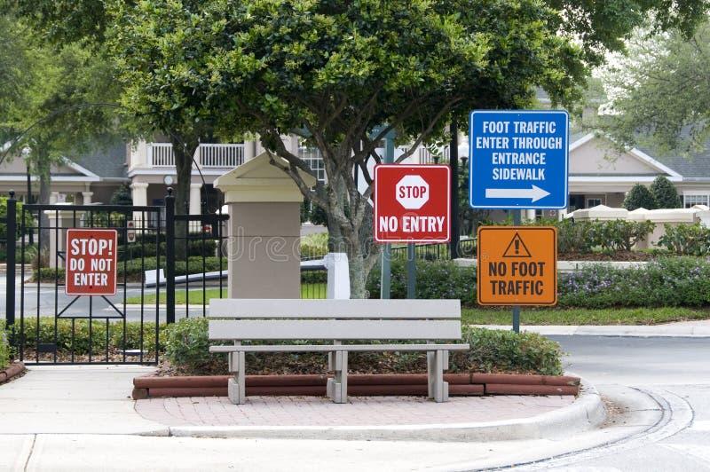 Foot Traffic Royalty Free Stock Image
