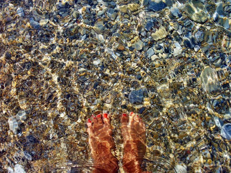 Download Foot water stock photo. Image of color, nail, feet, foot - 32120006