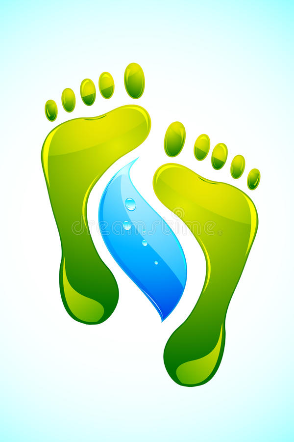 Free Foot With Water Drop Stock Photos - 19016793