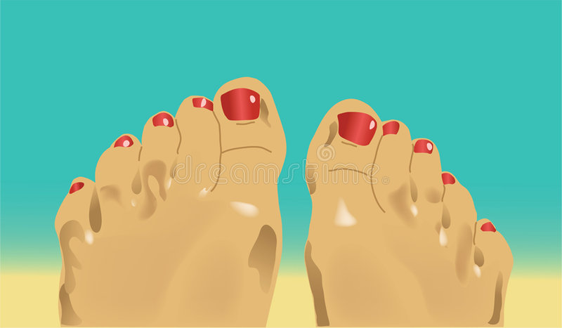 Foot1 foto de stock