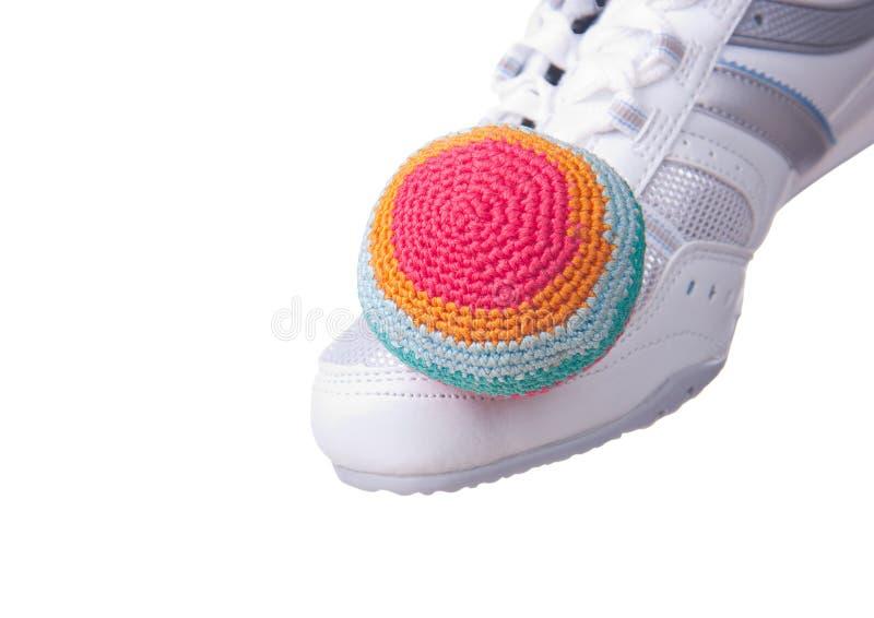 Footbag. photo libre de droits