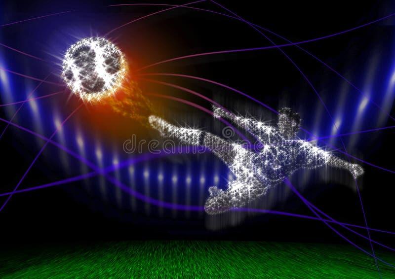 footbal бесплатная иллюстрация