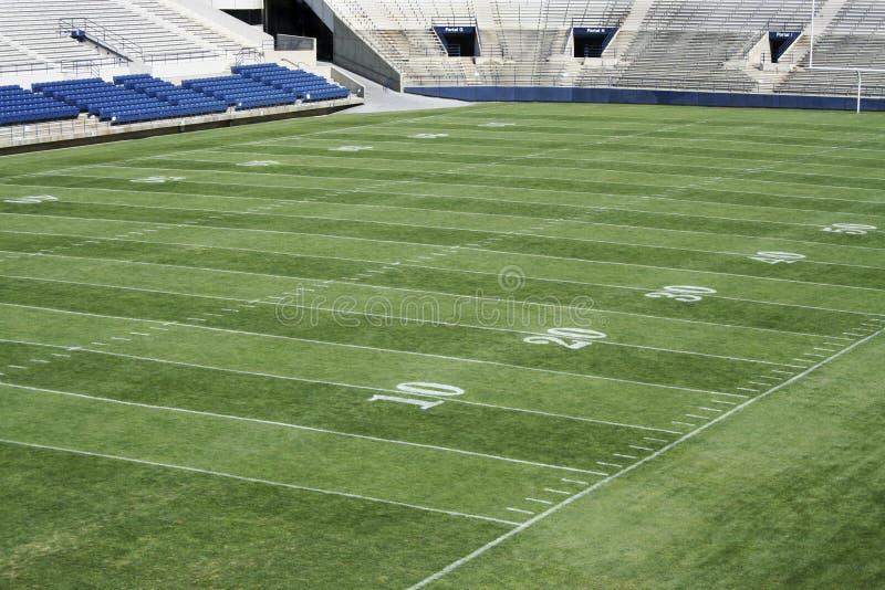footbal stadion royaltyfri foto