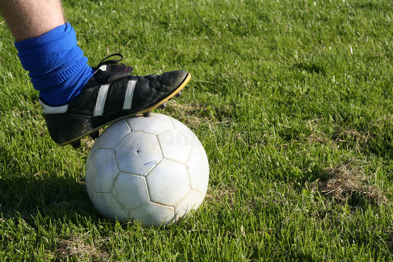 Download Football stock image. Image of white, sock, part, sports - 129247