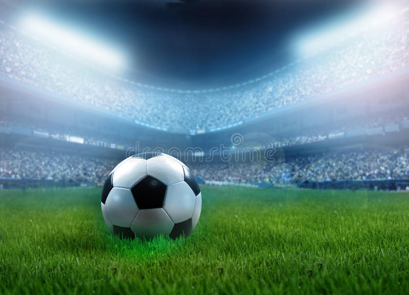 Download Football stock image. Image of black, play, competition - 13483337