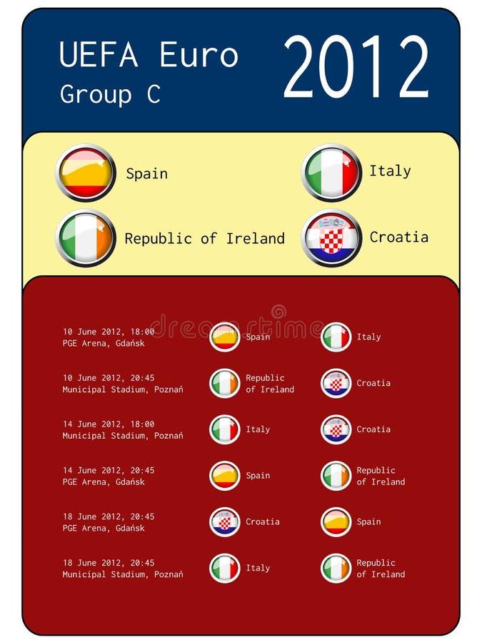 Football 2012 match schedule  - group C