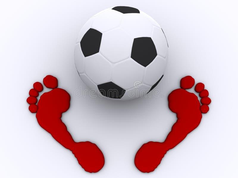 Download Football stock illustration. Image of conceptual, football - 2318185