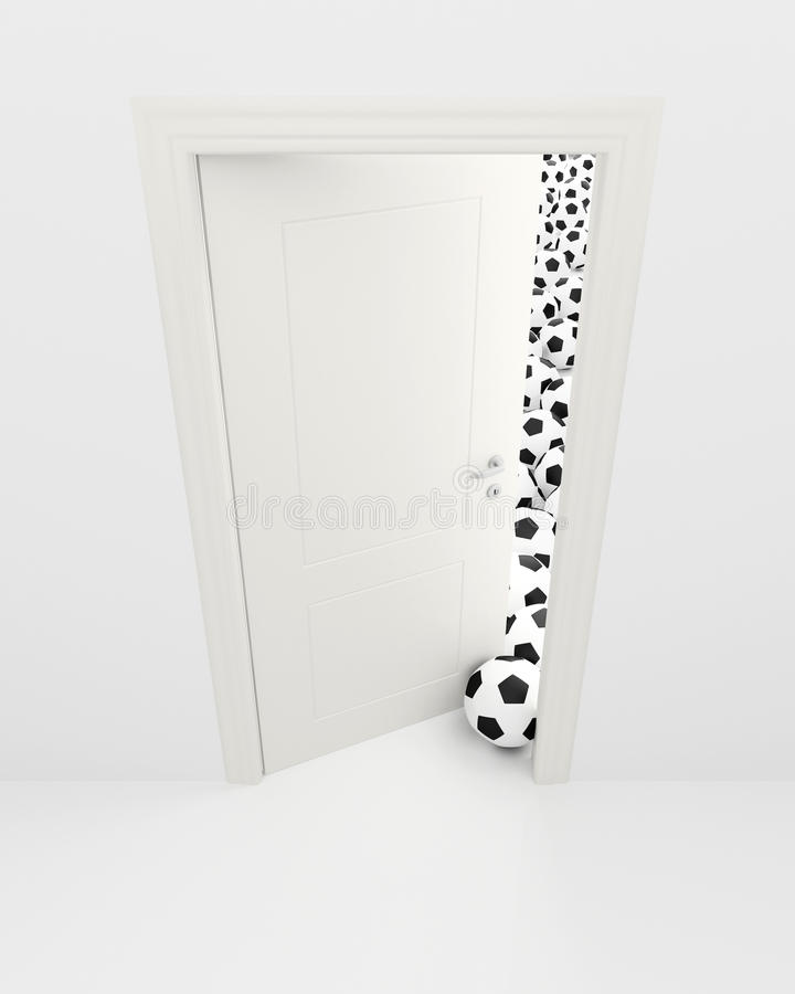 Download Football stock illustration. Illustration of abstract - 23536841