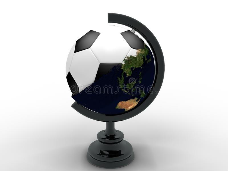 Download Football stock illustration. Image of sport, model, british - 26267694