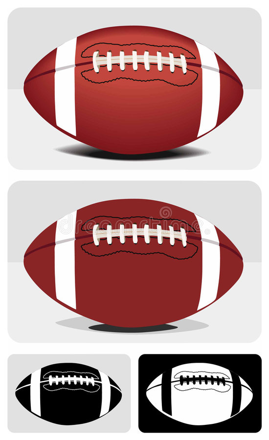 Download Football stock vector. Image of pigskin, football, first - 6392909