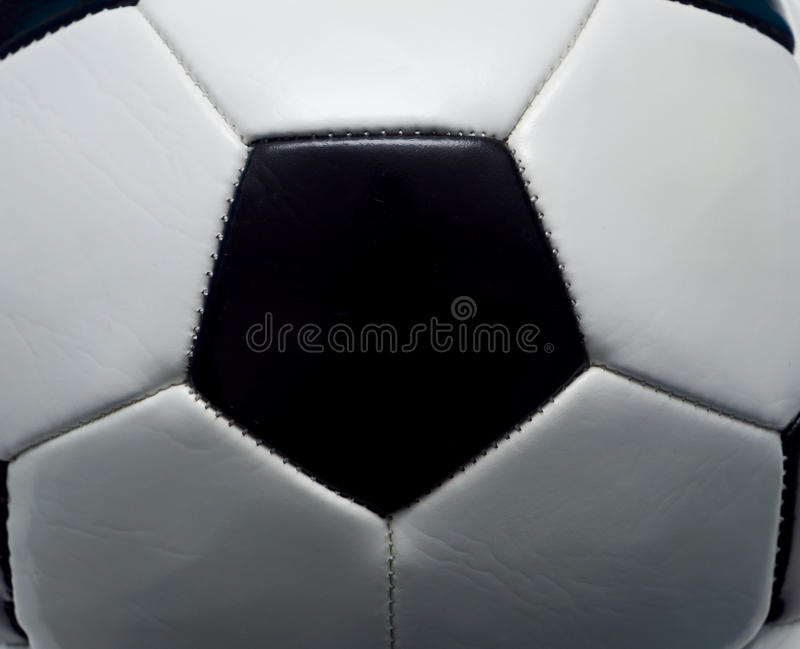 Football abstract. With closeup of ball royalty free stock photo