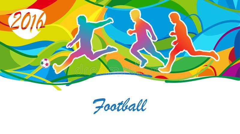 Football Olympics vector illustration