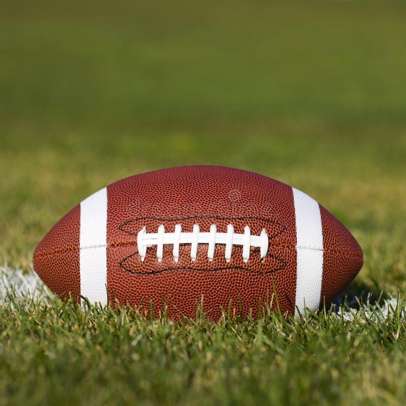 Football américain sur le champ photos libres de droits