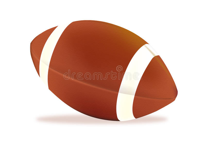 Football americano illustrazione di stock