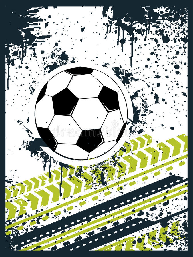 Download Football background stock vector. Image of football, background - 13843291