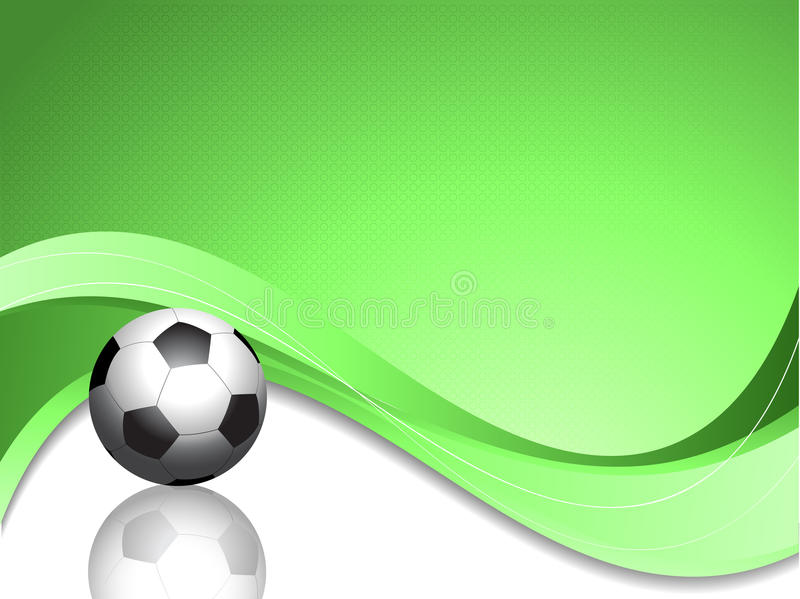 Download Football background stock vector. Image of green, ball - 14590733