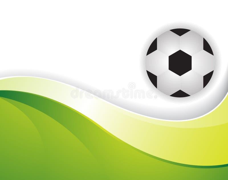 Football background vector illustration