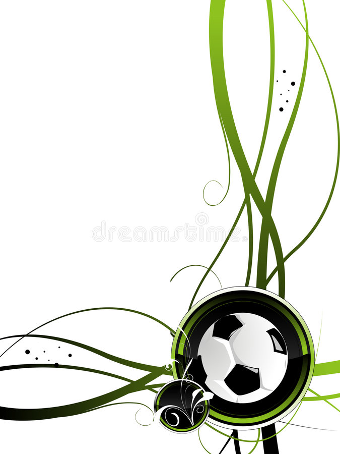 Download Football background stock vector. Image of court, elements - 3592087