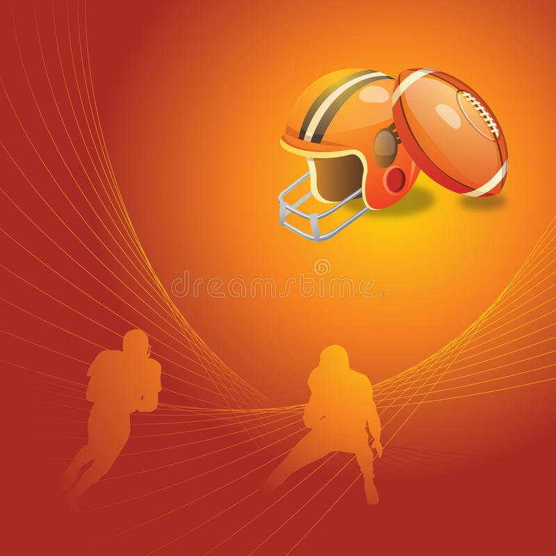 Download Football background stock vector. Image of catch, ball - 9779640