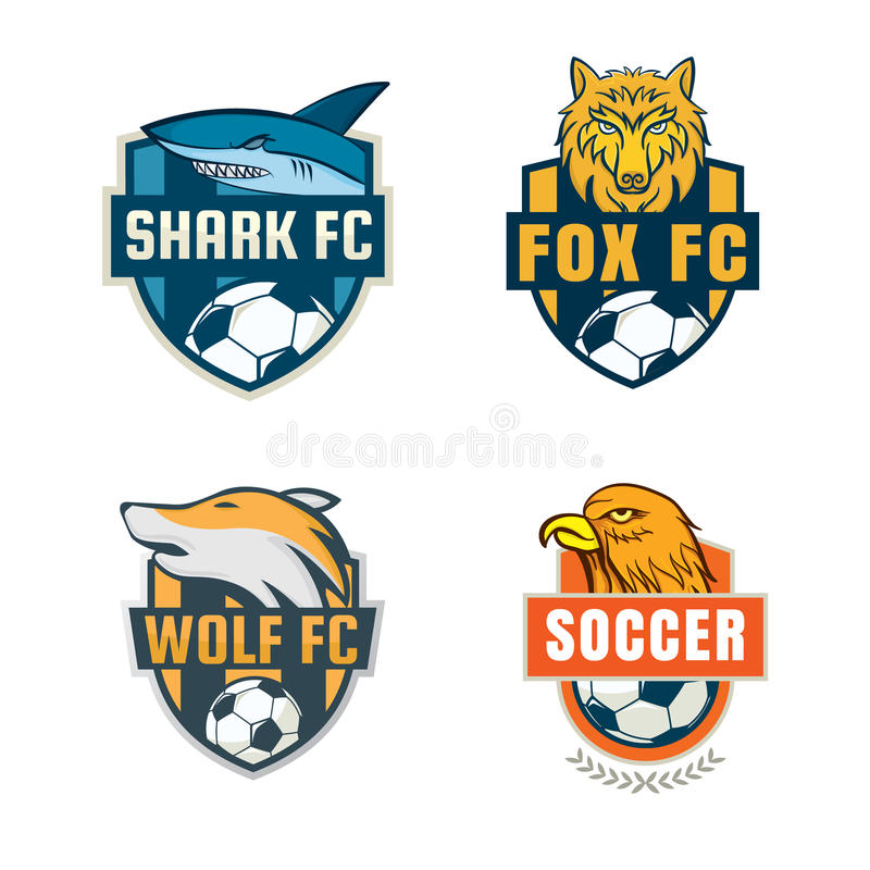 Good Download Football Badge Logo Template Collection Design Stock Vector    Illustration Of Crest, Seal: