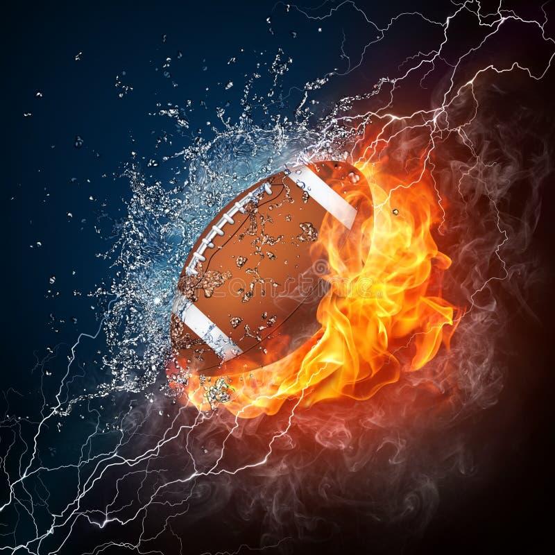 Football Ball stock illustration