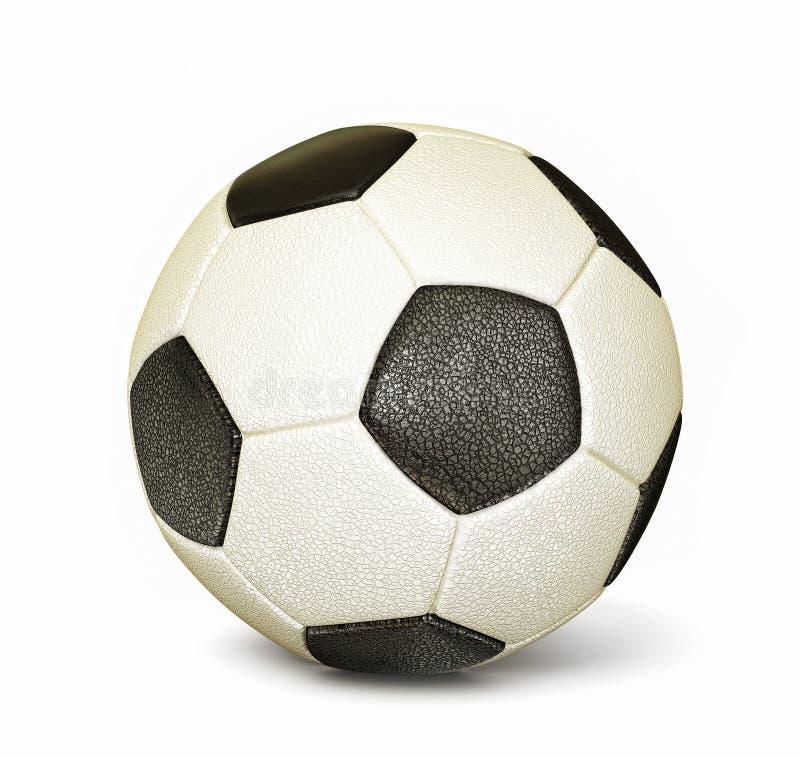 Download Football ball stock illustration. Illustration of shoot - 27178665