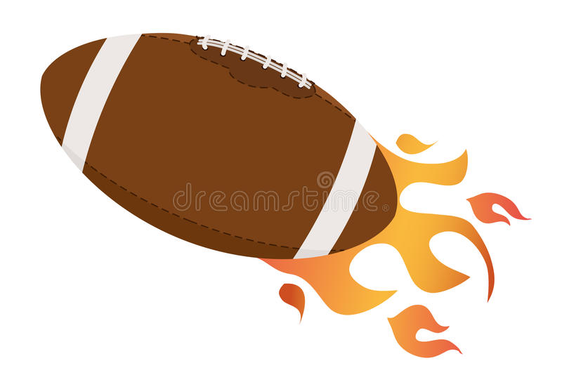 Download Football ball stock vector. Image of fire, design, illustration - 31051003