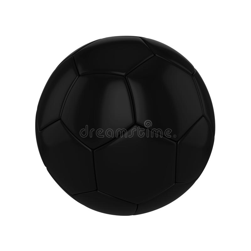 Soccer Ball With Planet Earth Globe Concept Isolated On
