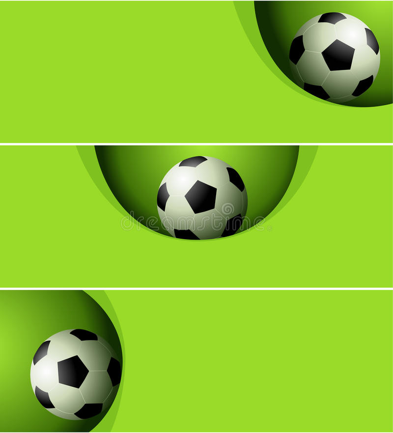 Download Football banners stock vector. Image of play, competition - 38889392