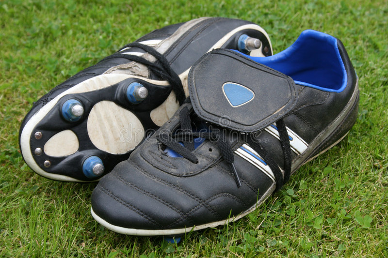 Football Boots stock photography