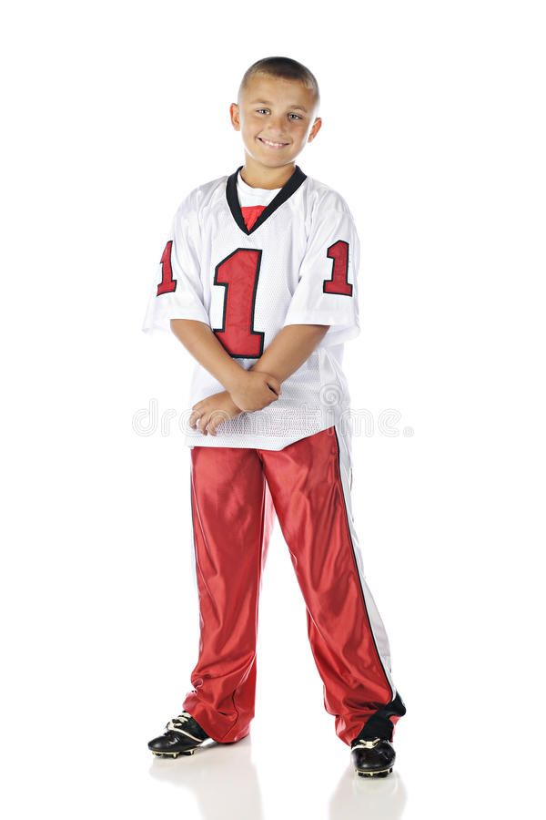 Download Football Boy stock image. Image of isolated, happy, jersey - 36353701