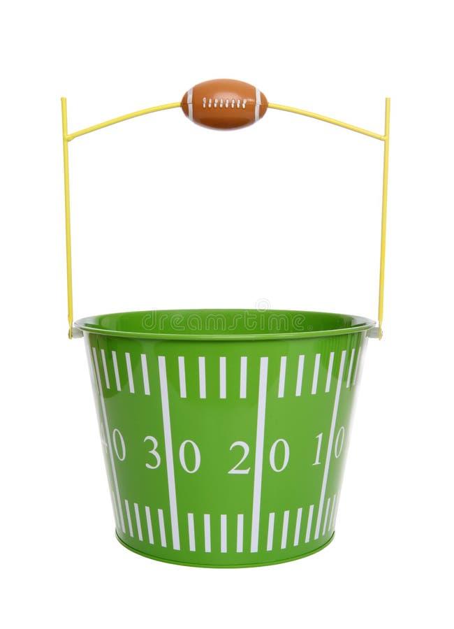 Football Bucket stock photo