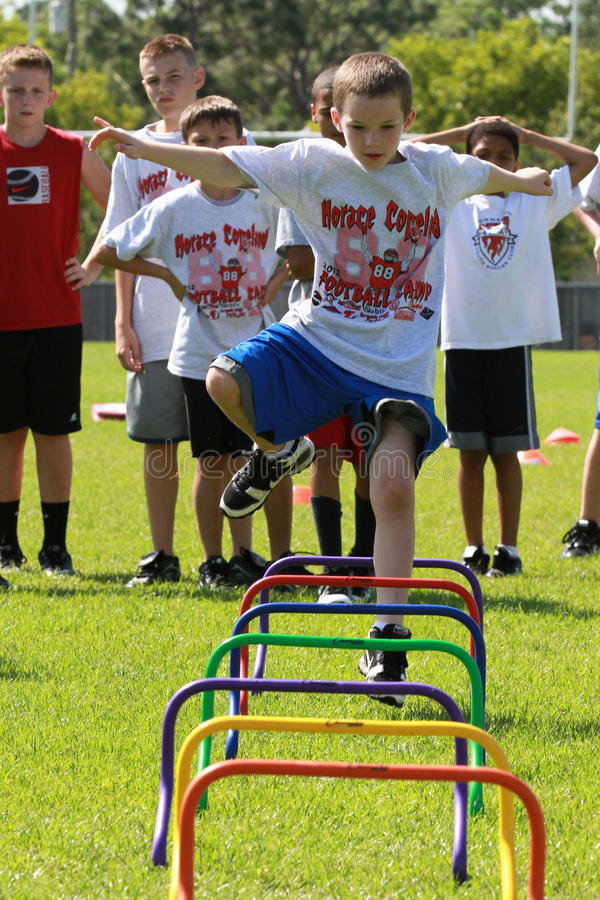 Download Football Camp editorial photography. Image of adapting - 23990997
