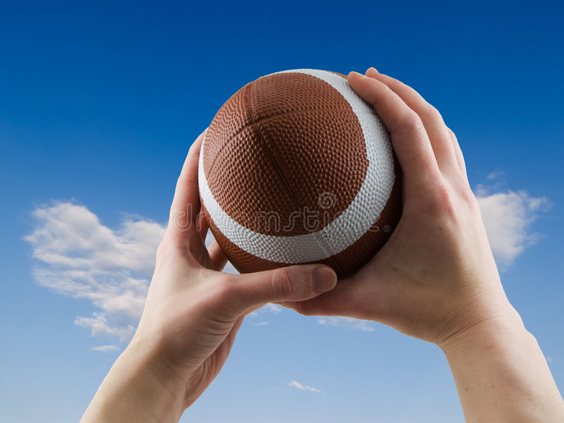 Download Football Catch Stock Images - Image: 5115974