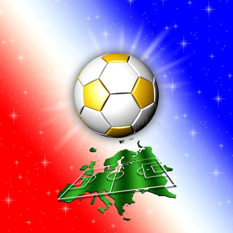 Download Football Championship Europe Map Stock Image - Image: 71423775
