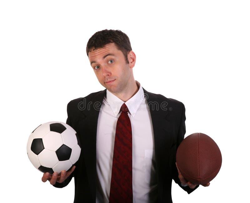 Football Choice royalty free stock photography