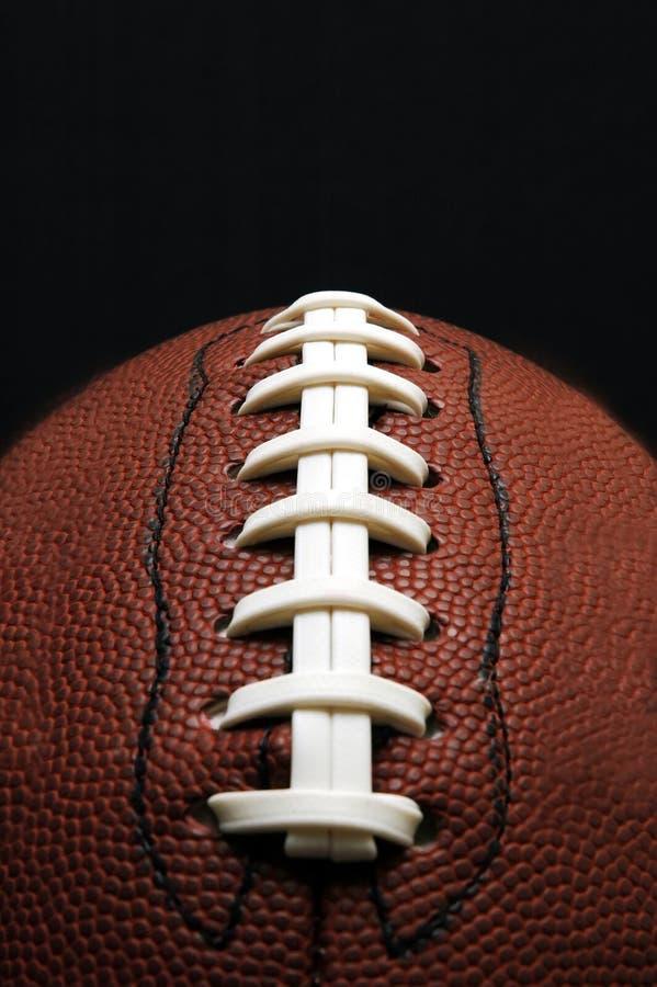 Football Closeup with Copy Space royalty free stock photos