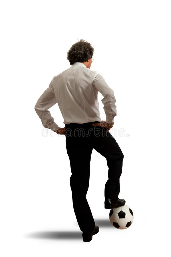 Download Football Concept With Businessman Stock Photo - Image: 28665218