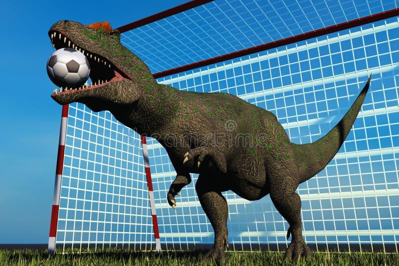 Football Dinosaur Stock Photos