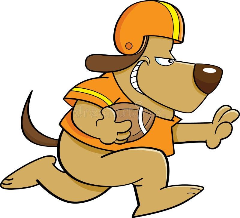Football Dog vector illustration