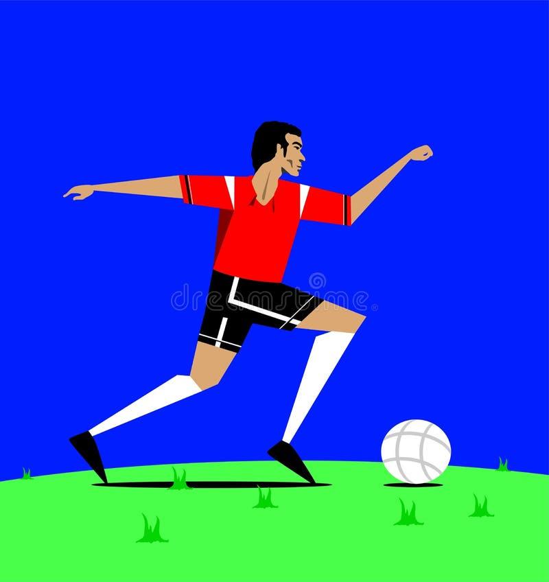 Football royalty free illustration