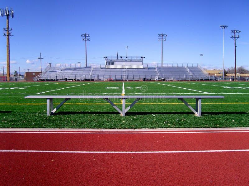 Football Field 1 stock photos