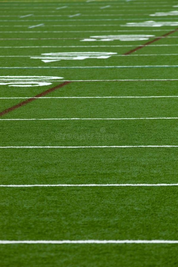 Football Field royalty free stock photo