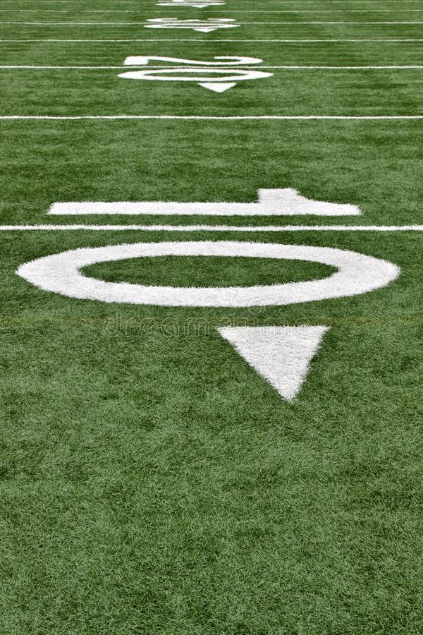 Download Football Field stock image. Image of sports, scrimmage - 11883743