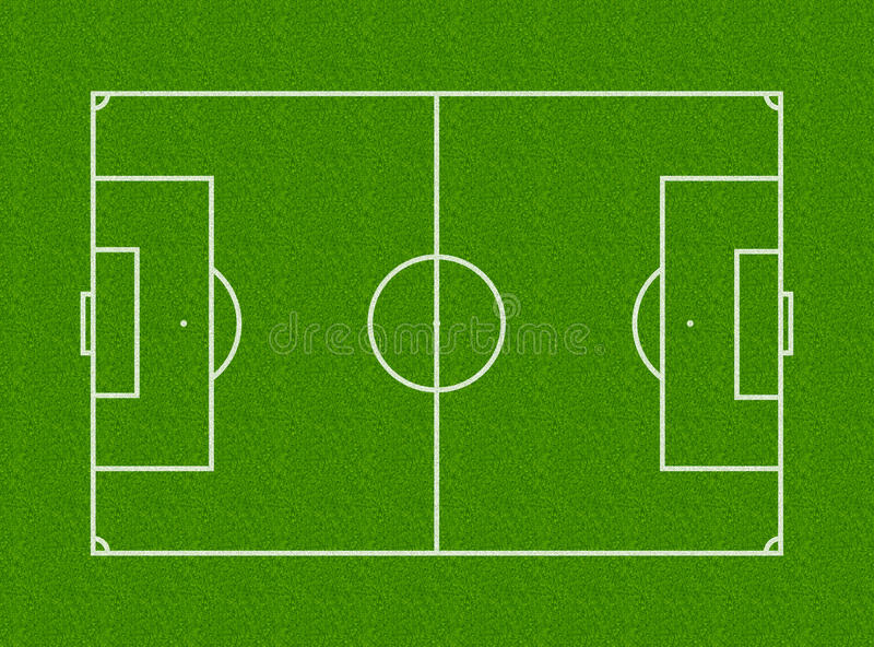 Download Football Field stock illustration. Image of goal, field - 12139031